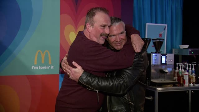 Jake The Snake Roberts at McDonald's McCafe Presents The Village At The Lift 2015 Day 3 on January 25 2015 in Park City Utah