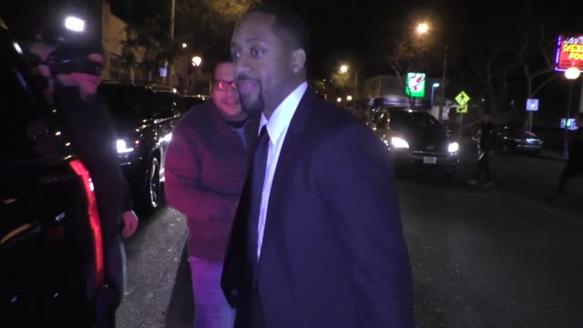 INTERVIEW Jaleel White on the NCAA corruption scandal outside Delilah in West Hollywood at Celebrity Sightings in Los Angeles on February 24 2018 in...