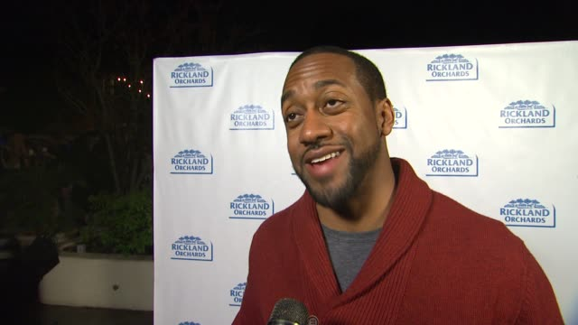 jaleel white on what brings him out, loving the greek yogurt gelato, his plans for thanksgiving and talks about his new show total blackout at... - gelato stock videos & royalty-free footage