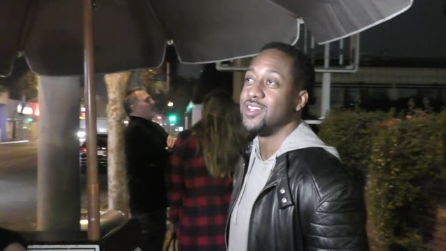 INTERVIEW Jaleel White talks about NFL Players snatching chains off each other outside Delilah's Nightclub in West Hollywood in Celebrity Sightings...