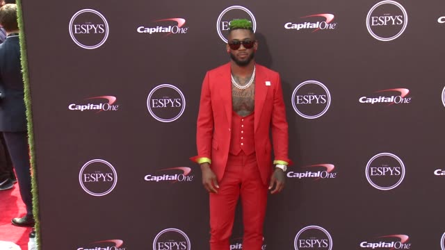 Jalen Mills at The 2018 ESPYS at Microsoft Theater on July 18 2018 in Los Angeles California