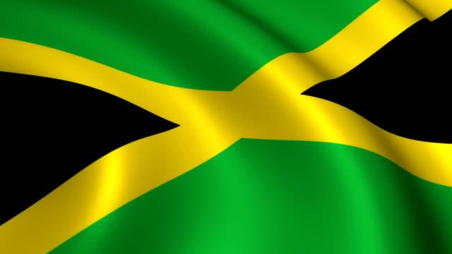 Jamaica vlag loopbare