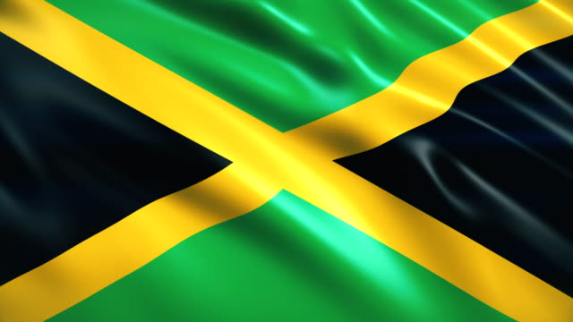 jamaica flag - flag stock videos & royalty-free footage
