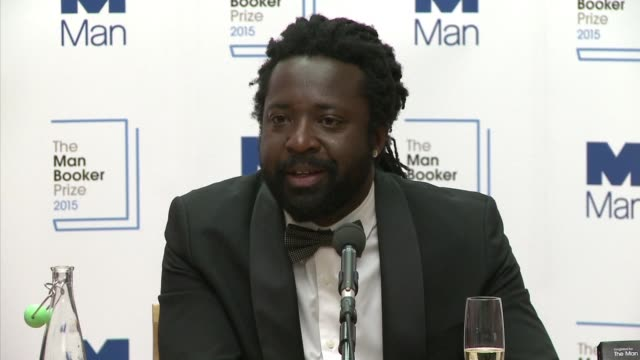 stockvideo's en b-roll-footage met jamaican author marlon james on tuesday won the man booker prize for best novel for a brief history of seven killings a re telling of the attempted... - bob marley musician