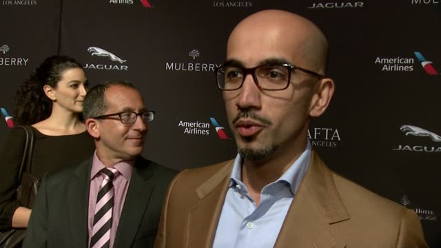 INTERVIEW Jamal Al Sharif on being at the event on what makes the BAFTA Tea Party one of the most prestigious events of the weekend and on getting...