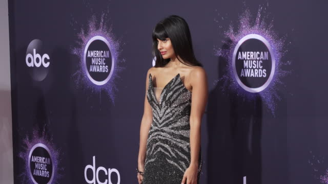 jameela jamil at the 2019 american music awards at microsoft theater on november 24 2019 in los angeles california - american music awards stock videos & royalty-free footage