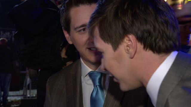 james and oliver phelps - oliver phelps stock videos & royalty-free footage