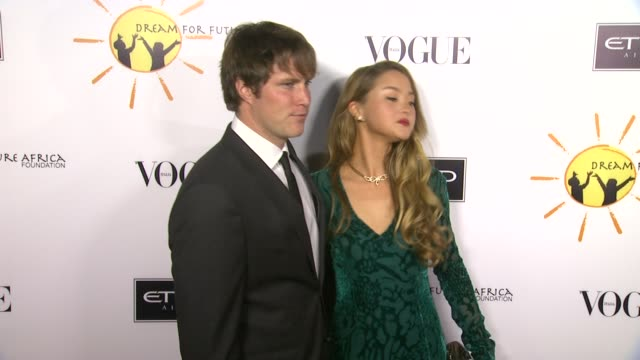 james bailey, devon aoki at gelila and wolfgang puck's dream for future africa foundation gala in beverly hills, ca, on . - wolfgang puck stock videos & royalty-free footage