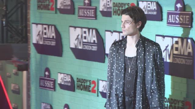 james bay at mtv ema awards at the sse arena, wembley on november 12, 2017 in london, england. - wembley arena stock videos & royalty-free footage