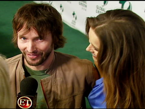 stockvideo's en b-roll-footage met james blunt and petra nemcova at the 3rd annual pre-oscar party hosted by global green usa on february 21, 2007. - oscar party