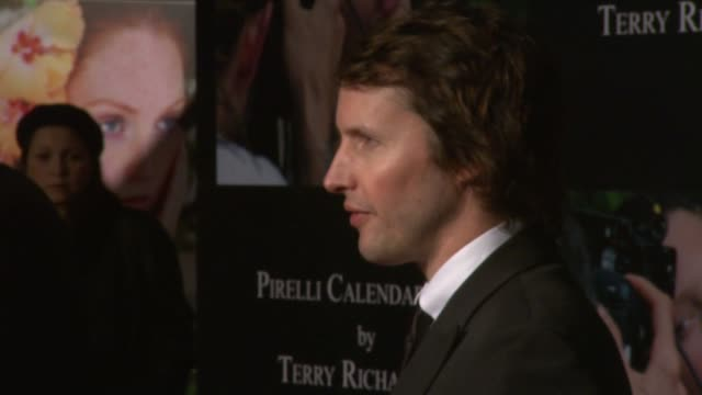 James Blunt at the 2010 Pirelli Calendar Launch Red Carpet at London England