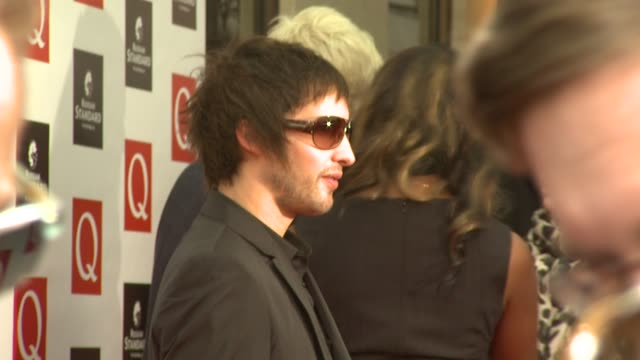 James Blunt at the Q Awards Arrivals at London England
