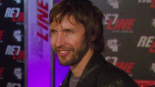 James Blunt at the Wyclef Jean and the Refugee AllStars Performing Sneak Peek at Exclusive clips from REDLINE at House of Blues on Sunset in...