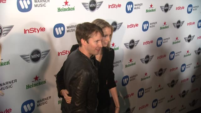 James Blunt at Warner Music Group GRAMMY Celebration Presented By Mini on 2/10/13 in Los Angeles CA