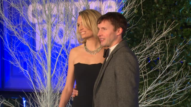 James Blunt at Winter Whites Gala at Kensington Palace on November 26 2013 in London England