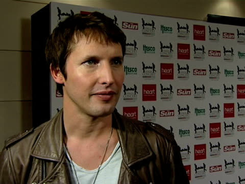 James Blunt on Help The Heroes at the Help The Heroes Concert at London England