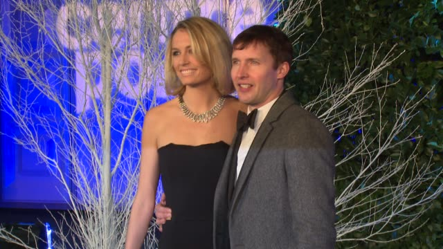 James Blunt Sofia Wellesley at Winter Whites Gala The Duke of Cambridge hosts at Kensington Palace on November 26 2013 in London England