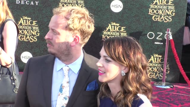 james bobin at the premiere of disney's alice through the looking glass at el capitan theatre in hollywood at celebrity sightings in los angeles on... - el capitan kino stock-videos und b-roll-filmmaterial