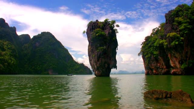 james bond island - phang nga bay stock videos and b-roll footage