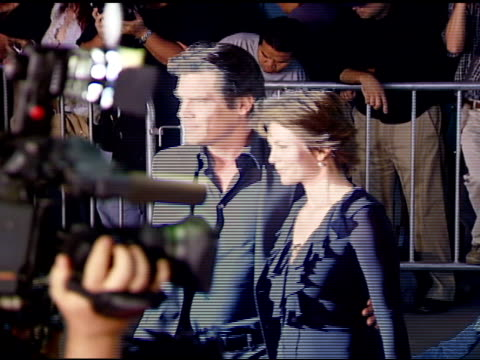 James Brolin and Diane Lane at the 'In the Valley of Elah' Premiere at Arclight Cinemas in Hollywood California on September 13 2007