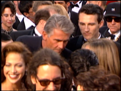 stockvideo's en b-roll-footage met james brolin at the 1997 academy awards arrivals at the shrine auditorium in los angeles, california on march 24, 1997. - james brolin