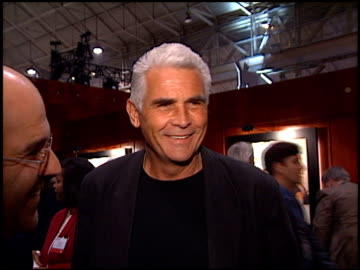 stockvideo's en b-roll-footage met james brolin at the natpe convention on january 20, 1998. - natpe convention
