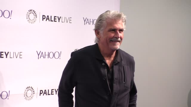 james brolin at the paleylive an evening with life in pieces at the paley center for media in beverly hills at celebrity sightings in los angeles on... - paley center for media los angeles stock videos & royalty-free footage