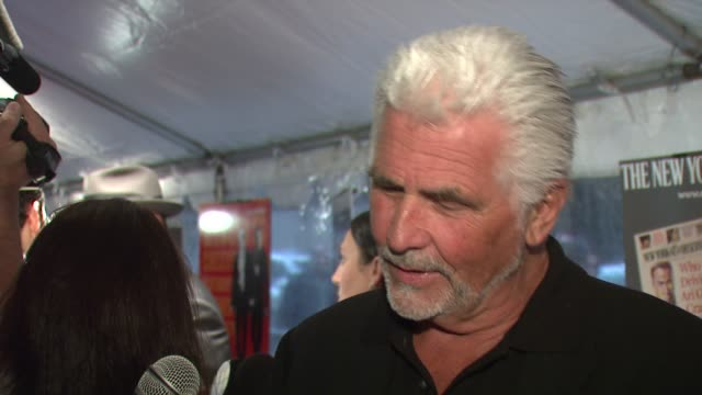 stockvideo's en b-roll-footage met james brolin at the 'the hunting party' new york city premiere at paris theatre in new york, new york on august 22, 2007. - james brolin