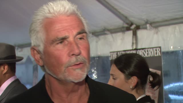 james brolin discusses his role in the film and what attracted him to this project at the 'the hunting party' new york city premiere at paris theatre... - james brolin stock videos & royalty-free footage