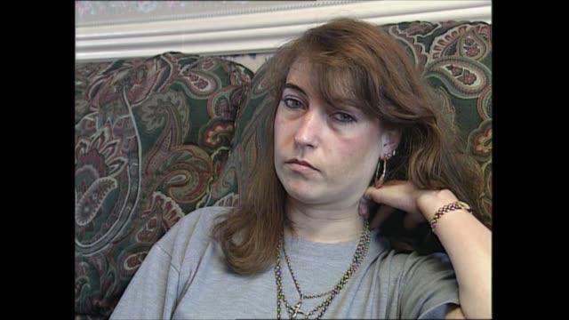stockvideo's en b-roll-footage met denise bulger interview; england: int denise bulger interview sot bbc pool r02059601/b0221247 - crime and murder
