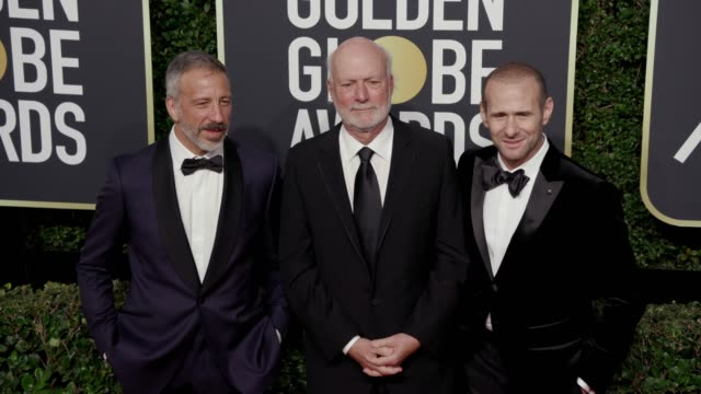 james burrows and guests at the 75th annual golden globe awards at the beverly hilton hotel on january 07, 2018 in beverly hills, california. - the beverly hilton hotel stock videos & royalty-free footage