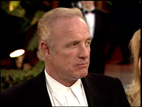 james caan at the 1997 academy awards vanity fair party at the shrine auditorium in los angeles, california on march 24, 1997. - 第69回アカデミー賞点の映像素材/bロール