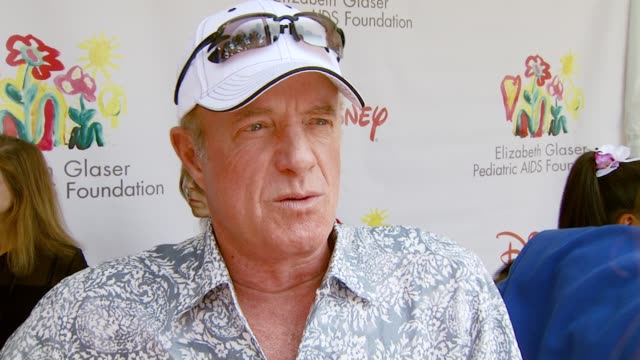 james caan on the event the booth he's working and how he'll let everyone win at the 'a time for heroes' carnival to benefit the elizabeth glaser... - アタイムフォーヒーローズ点の映像素材/bロール