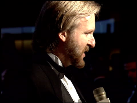 james cameron at the 1995 golden globe awards at the beverly hilton in beverly hills, california on january 21, 1995. - james cameron stock videos & royalty-free footage