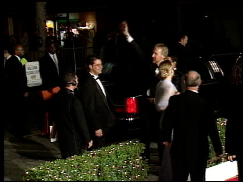 james cameron at the 1998 academy awards titanic party at new chasens in beverly hills, california on march 23, 1998. - academy awards stock-videos und b-roll-filmmaterial