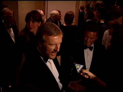 james cameron at the 1998 producers guild of america awards at the beverly hilton in beverly hills, california on march 3, 1998. - james cameron stock videos & royalty-free footage