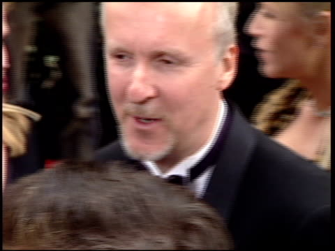 james cameron at the 2001 golden globe awards at the beverly hilton in beverly hills, california on january 21, 2001. - james cameron stock videos & royalty-free footage