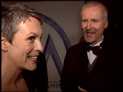 james cameron at the 2004 producers guild of america awards at the century plaza hotel in century city, california on january 17, 2004. - james cameron stock videos & royalty-free footage