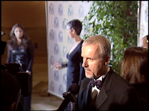 James Cameron at the 2004 Producers Guild of America Awards at the Century Plaza Hotel in Century City California on January 17 2004