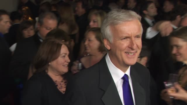 james cameron at the 63rd annual directors guild of america awards at hollywood ca. - アメリカ監督組合点の映像素材/bロール