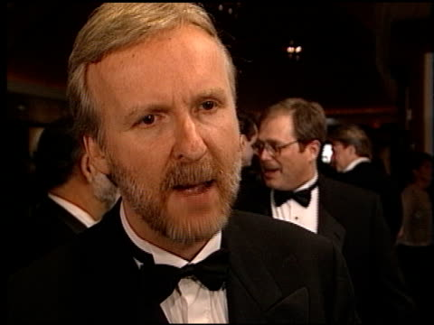 james cameron at the directors guild awards at the century plaza hotel in century city, california on march 7, 1998. - james cameron stock videos & royalty-free footage