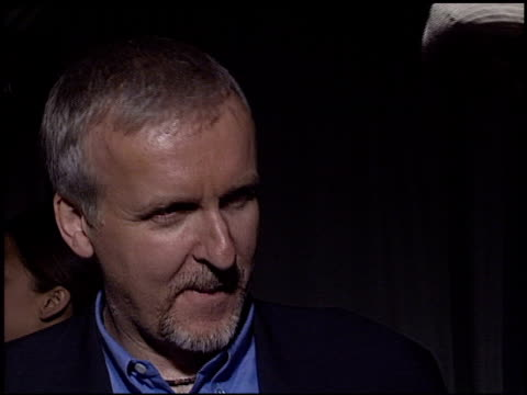 james cameron at the 'ghosts of the abyss' premiere at universal citywalk imax in universal city, california on march 13, 2003. - james cameron stock videos & royalty-free footage