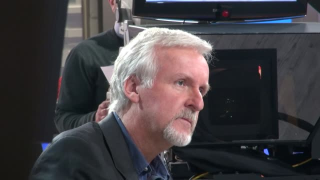 james cameron at the 'good morning america' studio james cameron at the 'good morning america' studio on april 11, 2012 in new york, new york - james cameron stock videos & royalty-free footage