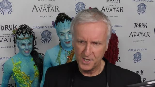 james cameron at the opening night of 'toruk - the first flight' by cirque du soleil at staples center in los angeles at celebrity sightings in los... - james cameron stock videos & royalty-free footage