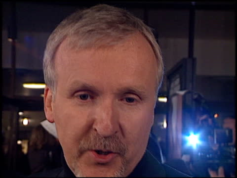 James Cameron at the 'Solaris' Premiere at the Cinerama Dome at ArcLight Cinemas in Hollywood California on November 19 2002