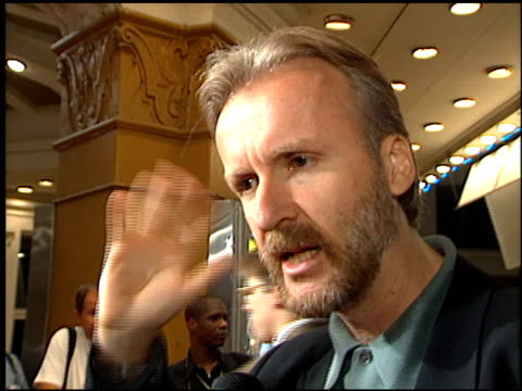James Cameron at the 'Strange Days' Premiere on October 10 1995