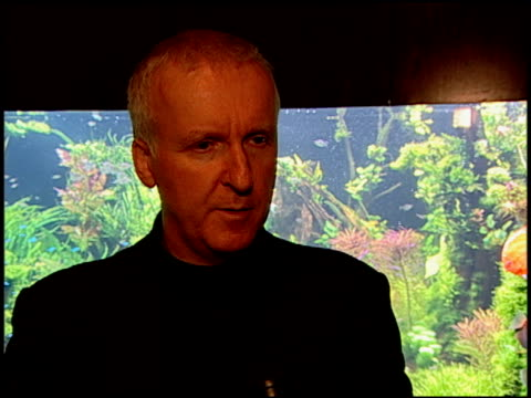 james cameron on being honorored, on saving the ocean, on why oceana is important because they help bring awareness but they also help show what one... - james cameron stock videos & royalty-free footage