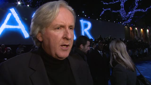james cameron on the film, how epic it is and the important environmental message especially as world leaders have just met for the global climate... - epic film stock videos & royalty-free footage