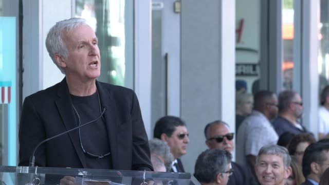 james cameron on zoe's smile and drive at the zoe saldana honored with a star on the hollywood walk of fame on may 03, 2018 in hollywood, california. - james cameron stock videos & royalty-free footage