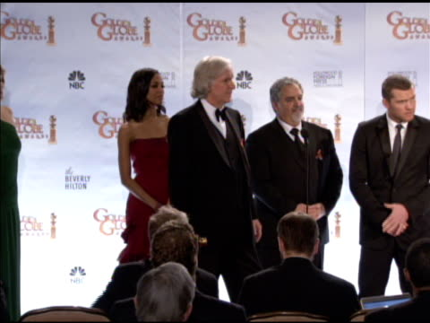 james cameron, sam worthington and the cast of avatar on how the film has affected his career and personal life. at the 67th annual golden globe... - james cameron stock videos & royalty-free footage